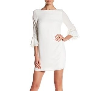 NWT- GORGEOUS Ivory Laundry by Shelli Segal Dress
